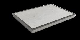 Nedabo Stelconplaat met stalen rand 200x150 cm
