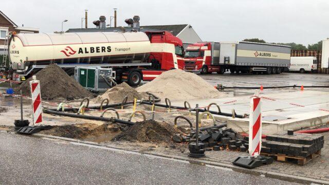 Nedabo B.V. - Het realiseren van een nieuwe tankplaats.