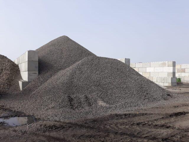 Nedabo B.V. - Het realiseren van opslag met betonblokken