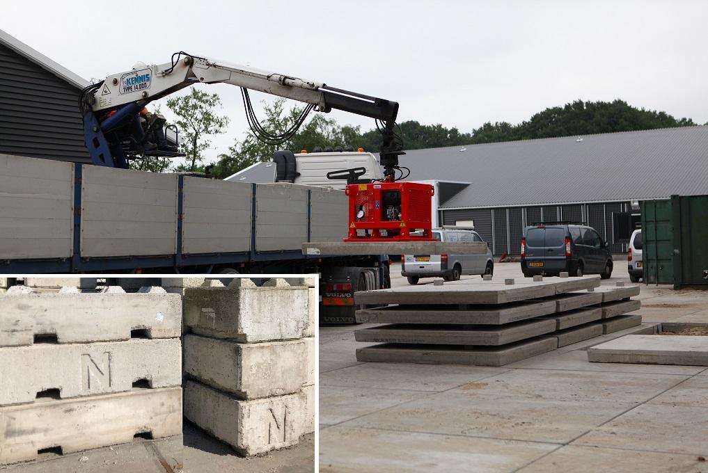 Nedabo B.V. - voor het huren van betonblokken
