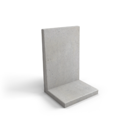 Nedabo Keerwand middel 100 cm